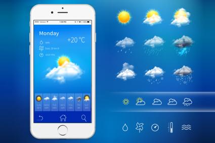 Bringen Sie eine Wettervorhersage-Web-App für unterwegs mit